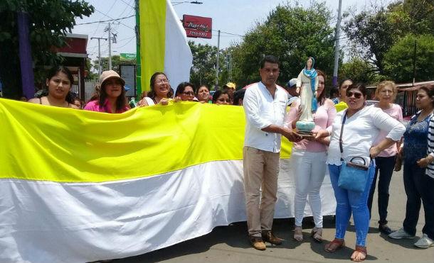 Vicepresidenta agradece al párroco de Ticuantepe por su aporte a la reconciliación