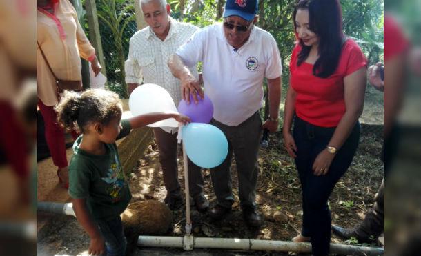 Nueva Guinea: Alcaldía inaugura proyecto de ampliación y mejoramiento del sistema de agua potable en colonia Los Ángeles