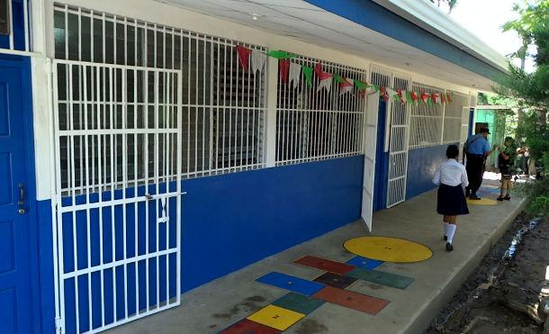Gobierno Sandinista continúa mejorando los ambientes escolares