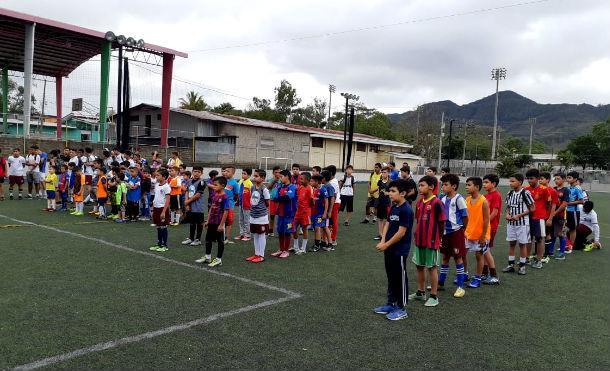 Alcaldía de Jinotega inaugura escuela de talentos municipal de fútbol