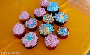 El arte para decorar queques, pudines y tortas