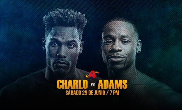 Jermall Charlo vs Brandon Adams, una guerra por el título de peso medio