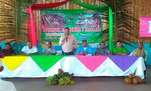 Gobierno Sandinista realiza encuentro con productores agropecuarios en Waspam