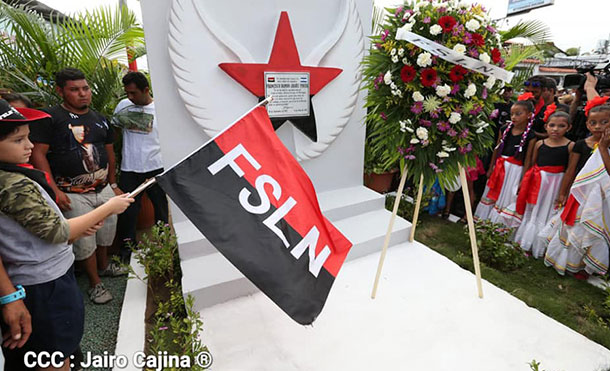Militancia Sandinista conmemora primer aniversario del compañero Francisco Aráuz Pineda