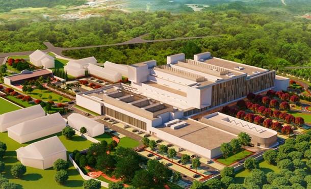 Inicia la construcción del hospital Oscar Danilo Rosales, el más grande del país