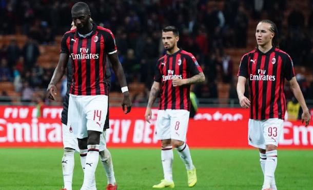AC Milán excluido de la Europa League