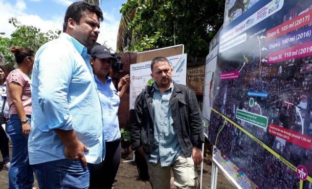 Avanzan obras de drenaje pluvial en el barrio Domitila Lugo