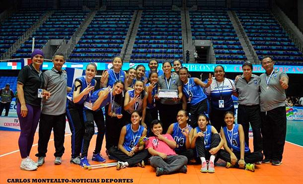 Nicaragua gana medalla de bronce en centroamericano de Voleibol