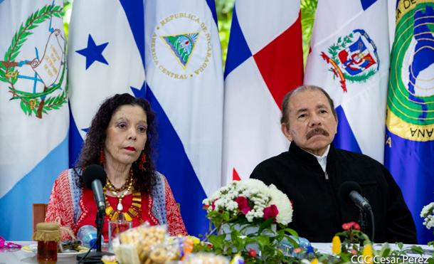 Foto CCC César Pérez: Mensaje del Presidente-Comandante Daniel en la Clausura de Conferencia Regional del Parlamento Centroamericano sobre Reactivación de la Región en la Era Post-COVID