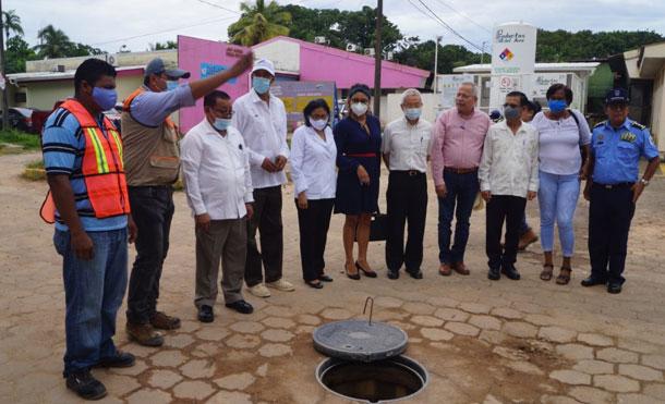 Foto Cortesía: El Proyecto tiene una inversión de 6.6 millones de córdobas y beneficiará a 170 mil habitantes que visitan la unidad hospitalaria.