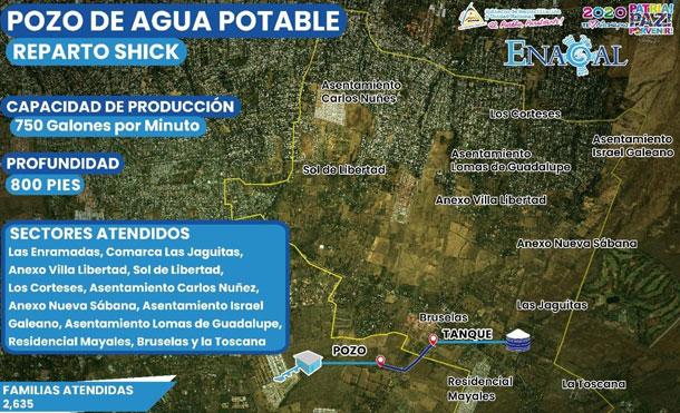 Foto Cortesía: Los trabajos incluyen: Obras civiles, perforación, equipamiento y energización del nuevo pozo, con una producción estimada de 750 galones por minuto, a una profundidad de 800 pies.