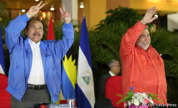 Foto Cortesía: Comandante Presidente Daniel Ortega y el Dr. Ralph E. Gonsalves