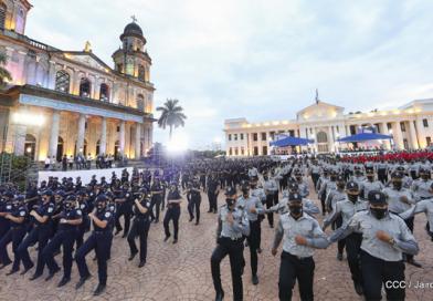 Foto CCC Jairo Cajina: Acto del 41 Aniversario Ministerio de Gobernación