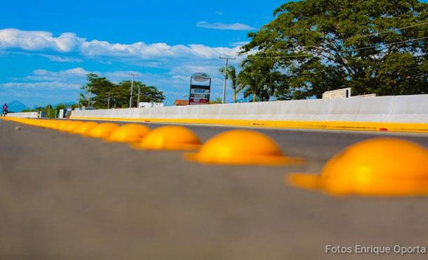 Foto Referencia: Con esta inversión el Gobierno Sandinista contribuye a descongestionar el tráfico hacia la capital