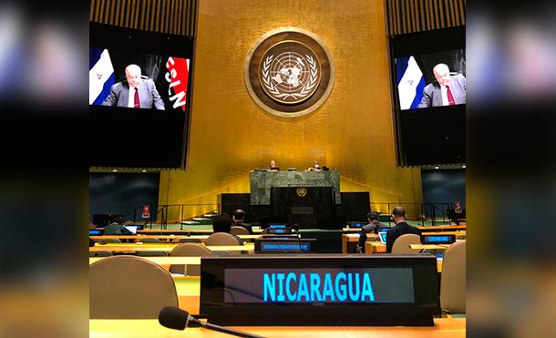 Foto Cortesía: La Reunión fue inaugurada por el Señor António Guterres Secretario General de Naciones Unidas y por el Señor Volkan Bozkir, Presidente de la Asamblea General, quienes hicieron un llamado a un Mundo Libre de las Armas Nucleares