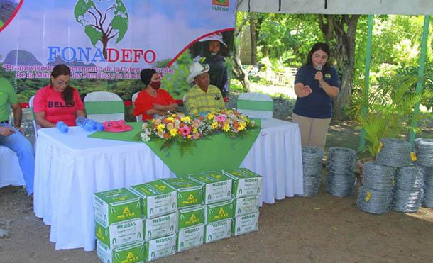 Foto INAFOR // Con estas acciones se promueve el manejo sostenible del medio ambiente