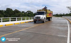 Foto Multinoticias: Este proyecto forma parte de la estrategia del corredor inter oceánico de la Costa Caribe Sur, que conecta con las regiones centro y pacífico de Nicaragua