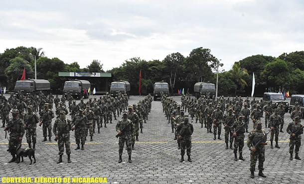 Foto Ejército de Nicaragua // Apertura del Plan de Protección y Seguridad a la Cosecha Cafetalera ciclo productivo 2020-2021