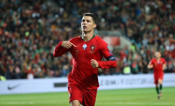Cristiano Ronaldo, numero 7 de la selección de Portugal / Foto: FPF