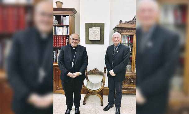Foto CCC // Francisco Javier Bautista Lara y Su Excelencia Cardenal José Florentino de Mendoza