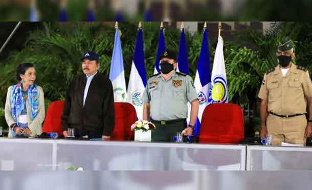 Foto: CCC Jairo Cajina: Acto de Traspaso de la Presidencia Pro Tempore del Consejo Superior de la Conferencia de las Fuerzas Armadas Centroamericanas
