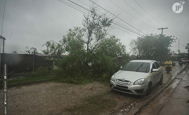 Foto Cortesía JP+: Afectaciones provocadas por el huracán ETA a su paso por territorio nicaragüense