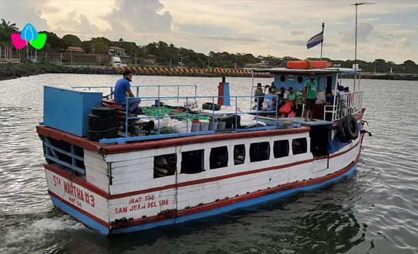 Foto Cortesía: El Ejército de Nicaragua a través del Distrito Naval Pacífico de la Fuerza Naval informa que se está autorizando la emisión de zarpes, a partir del 19 de noviembre de 2020.