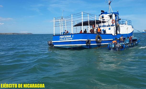 Foto Cortesía: La ayuda humanitaria, fue enviada por las iglesias Bautista y Morava de Corn Island para ser distribuida a los pobladores de Wawa Bar, que se encuentran en los albergues de Puerto Cabezas.