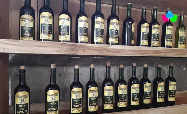 Foto Multinoticias // La botella de vino artesanal se vende a un precio de 150 córdobas