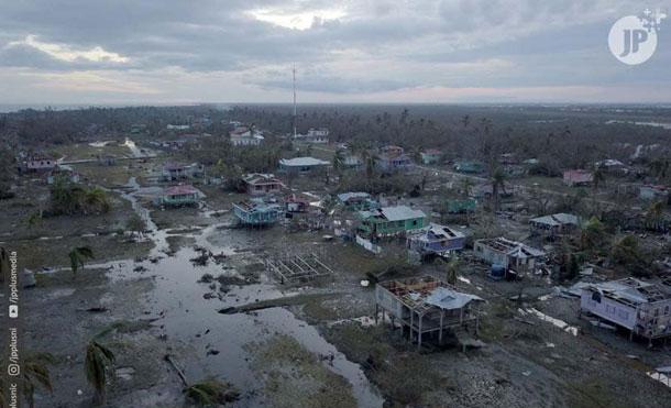 Foto Cortesía: El Canciller de Nicaragua recordó que el país fue impactado por dos huracanes: Eta, de categoría 4 y el huracán Iota de categoría 5 y vientos destructores de 258 kilómetros por horas.