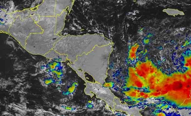 Foto Cortesía: Centro Nacional de Huracanes pronostica fortalecimiento de Tormenta Tropical IOTA