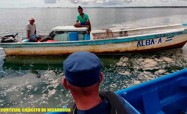 Foto Ejército de Nicaragua // Se está autorizando la emisión de zarpes a partir del 6 de noviembre de 2020