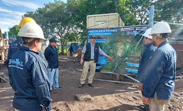 Foto Cortesía: Las Obras incluyen: perforación, equipamiento, energización y obras civiles del nuevo pozo