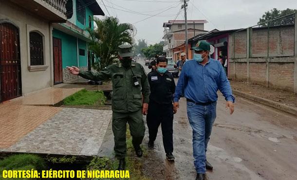 Foto Cortesía: En este recorrido, participaron autoridades municipales y representantes de los Comités Municipales para la Prevención, Mitigación y Atención a Desastres (COMUPRED).