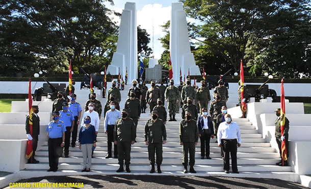 Foto Referencia: El Ejército de Nicaragua, el 27 de noviembre de 2020, en el Monumento al Soldado de la Patria, se realizó acto en conmemoración del Día del Soldado de la Patria.