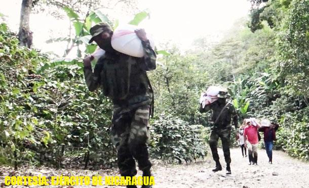 Foto Cortesía: Asimismo, apoyaron en el retorno a su lugar de origen de 14 personas que estaban albergadas en casas solidarias de la comunidad de Río Arriba, municipio de Jalapa.
