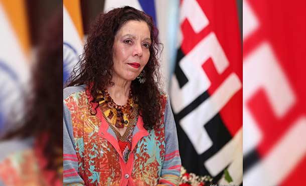 Vicepresidente Rosario Murillo / Foto: CCC.