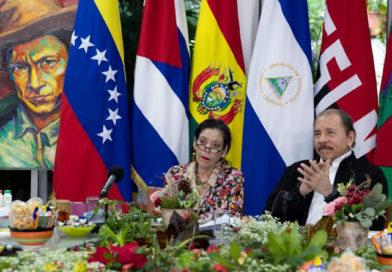 Foto: CCC César Pérez / Presidente-Comandante Daniel en Cumbre del ALBA-TCP (14-12-20)