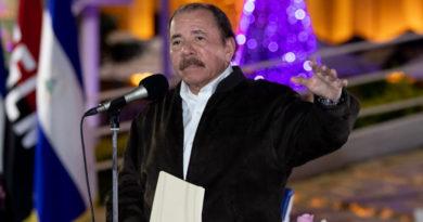 Foto: CCC César Pérez / Presidente Daniel Ortega y Vicepresidenta Rosario Murillo en recibimiento de Cartas Credenciales de Embajadores