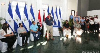Foto: CCC César Pérez / Homenaje al Comandante Edén Pastora, ¡Sandinista Siempre!, realizado en el Palacio de la Cultura 19 de Diciembre del 2020