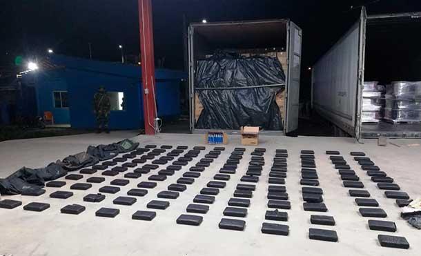 Foto Ejército de Nicaragua: Ejército de Nicaragua incauta 130 paquetes de droga al narcotráfico en Chinandega