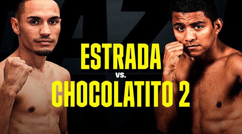 Arte promocional de Estrada vs Chocolatito 2