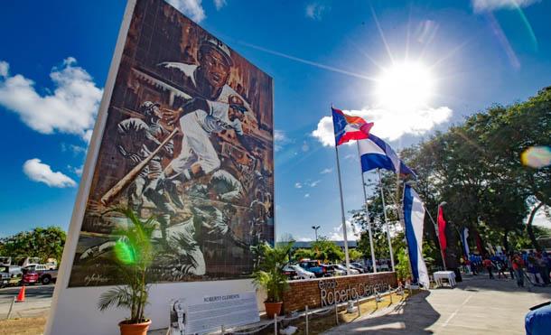 Foto César Pérez // El pueblo nicaragüense recordó al beisbolista puertorriqueño Roberto Clemente