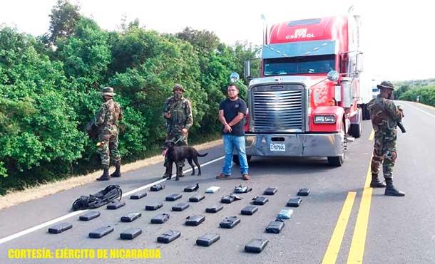 Foto Ejército de Nicaragua: Durante la incautación, se emplearon fuerzas y medios del 2 Comando Militar Regional.