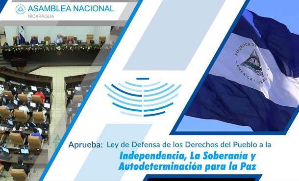 Ley de Defensa de los Derechos del Pueblo a la Independencia, la Soberanía y Autodeterminación para la paz