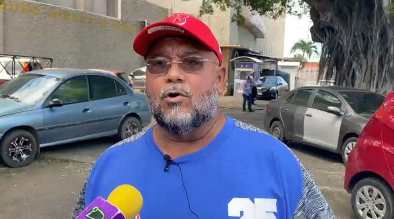 Omar Cisneros desde el antiguo Estadio Nacional de Managua
