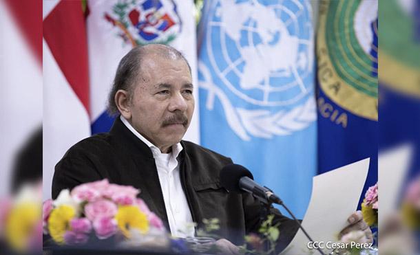 Foto César Perez // Presidente de la República de Nicaragua Comandante Daniel Ortega Saavedra