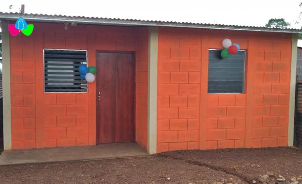 Foto Multinoticias // Se entregaron 15 nuevas viviendas en el barrio Nuevo Amanecer