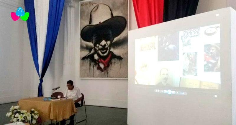 Sala Augusto C. Sandino del Palacio Nacional de la Cultura de Nicaragua.