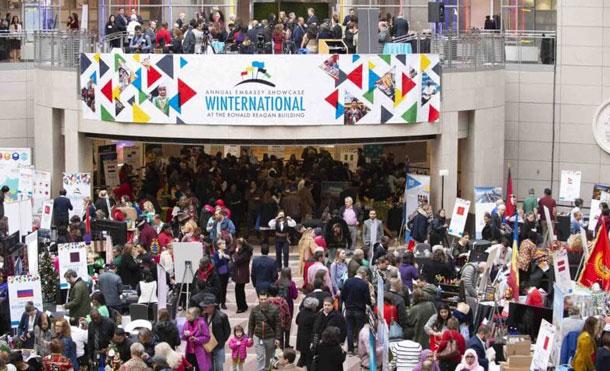 Foto Cortesía: La 9na exhibición anual de Embajadas Winternational es presentado por el World Trade Center y la Alcaldía de Washington DC.